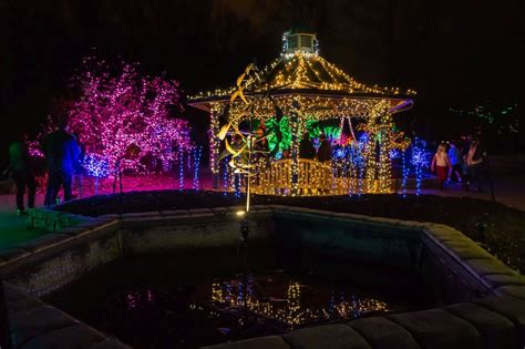 brookside gardens of lights 2016 christmas display