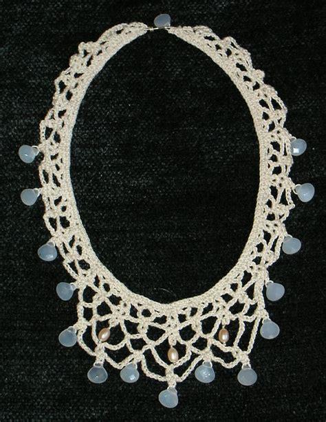 crochet pattern jewelry knit and crochet jewelry free patterns crochet necklace