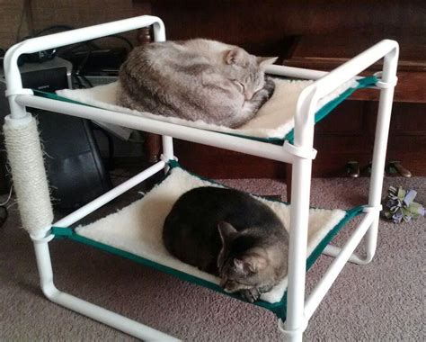 diy for boys on cat hammock condos and