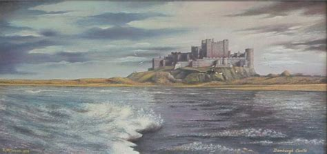 R D Painting by Why To Visit Bamburgh Castle In Northumbria Ukairtreks