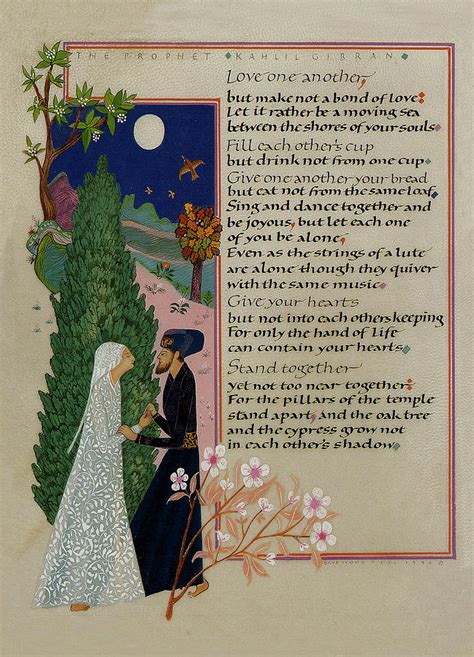Wedding Anniversary Quotes Kahlil Gibran by Kahlil Gibran On Khalil Gibran Quotes The