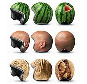 Novelty Crash Helmets Suggest Pulpy Soft Contents  WIRED
