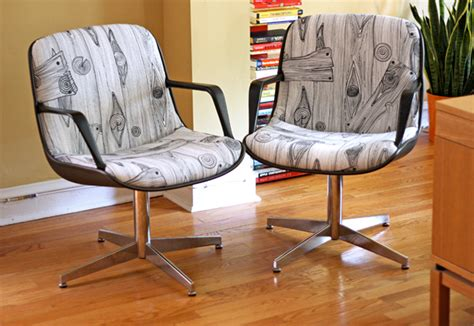 Reupholster Office Chair by Reupholstered Steelcase Chair Project How About Orange