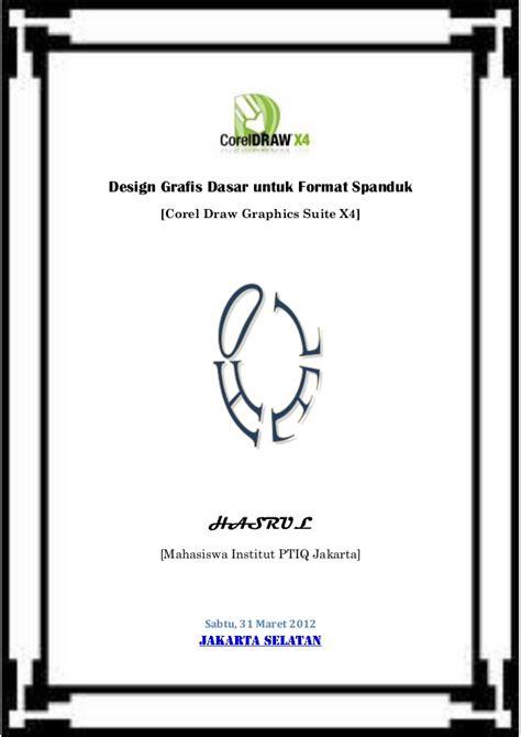desain grafis dasar 88254996 design grafis dasar untuk format spanduk pdf