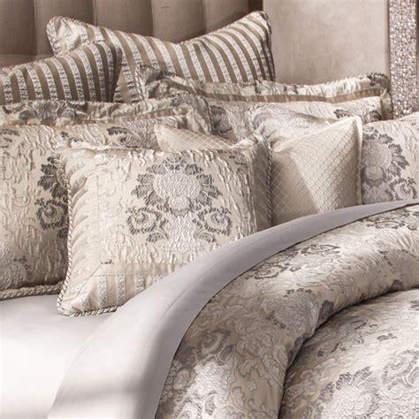 michael amini sycamore grove bedding king  queen size luxury comforter set luxury bedding