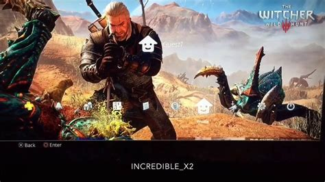 ps4 themes witcher 3 witcher 3 geralt vs monsters ps4 dynamic theme youtube