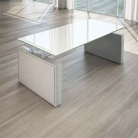 scrivanie cristallo scrivania per ufficio 180 cm top cristallo linekit