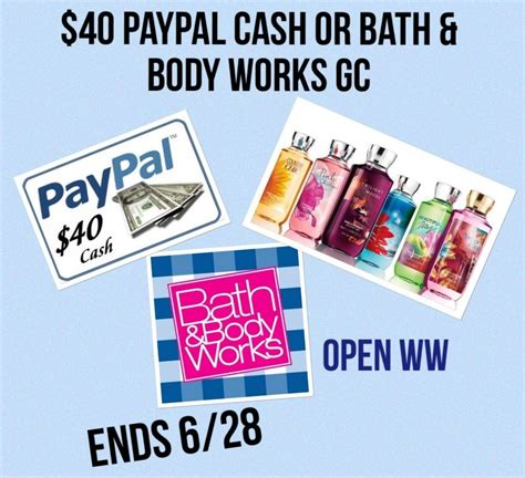 Bath And Body Works Gift Card Balance Check - 40 bath body works gift card giveaway powered by mom