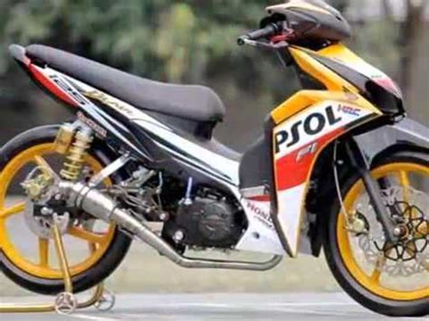 Sparepart Honda Blade Repsol modifikasi motor honda blade road race