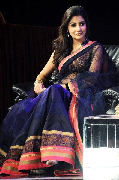 Sharma Designs The Of A - wow anushka sharma in sarees its so adorable