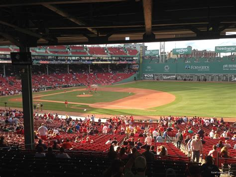 section 13 a red sox seating chart right field grandstand