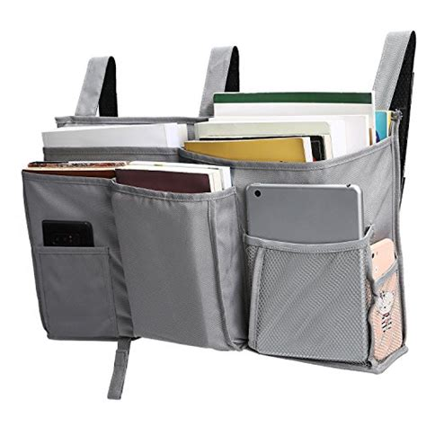Bunk Bed Storage Bag Corodo Corodo Grey Bedside Storage Caddy Hanging Organizer Bag With 8 Pockets For Bunk Beds
