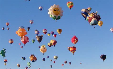 New mexico state aircraft hot air balloon