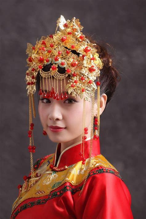 Chinese Wedding Phoenix Bridal Crown Headdress   Wedding