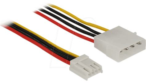 Kabel 4 Pin Molex To 2x Fdd Power High Quality delock 83821 molex 4 pin stecker gt floppy 4 pin buchse 40cm bei reichelt elektronik