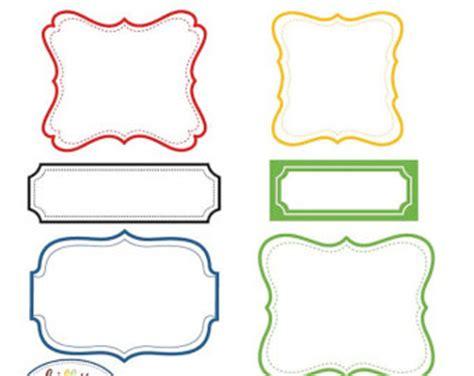 banner label template banner labels clipart vintage labels 6 designs total 30