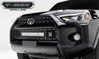 Toyota 4runner Aftermarket Parts 3pc Torch Series Black Mesh Grille Grill T Rex Fits 2014