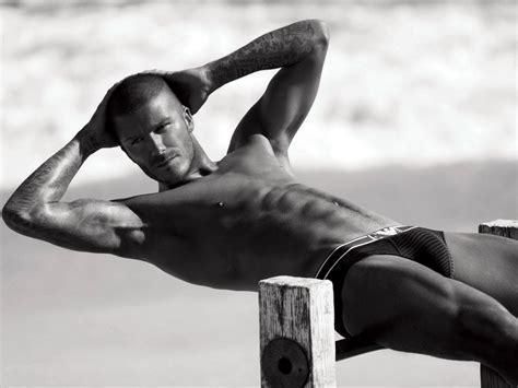 David Beckham In by David Beckham Models His New H M Bodywear Range