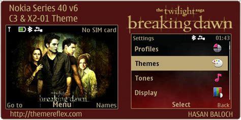 twilight themes for nokia x2 01 twilight saga breaking dawn theme for nokia c3 x2 01
