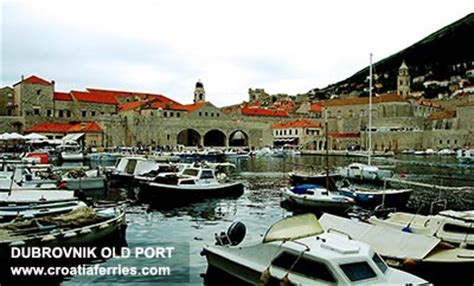 dubrovnik port to town dubrovnik town port ferry port