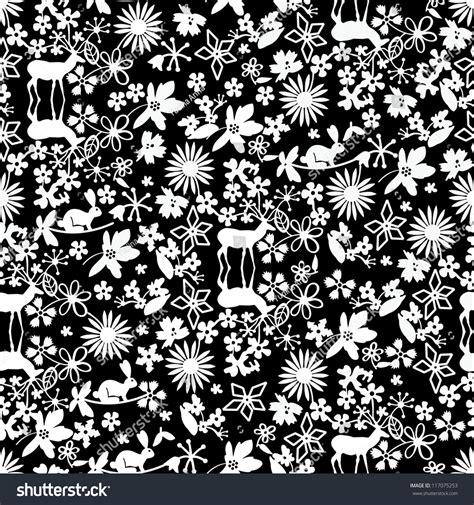 christmas pattern white black white christmas pattern stock vector 117075253