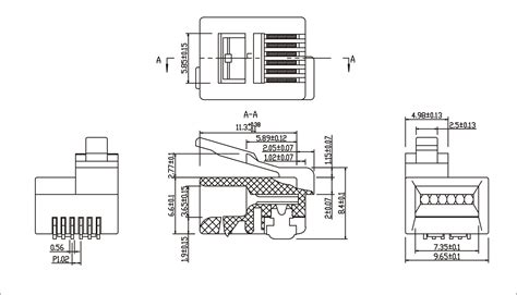 rj11 6p6c wiring diagram 24 wiring diagram images