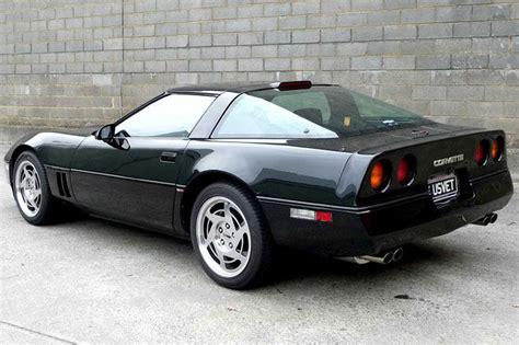 black c4 corvette chevrolet c4 corvette coupe rhd auctions lot 28 shannons