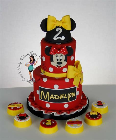 Setelan Ribbon Minnie Dusty 169 best images about disney cakes on disney mickey minnie mouse and minnie mouse cake
