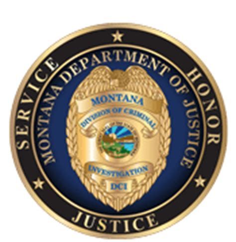 Department Of Justice Fraud Section by Division Of Criminal Investigation Dci Montana