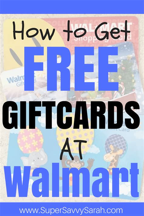 How To Get Cash From A Walmart Gift Card - how to get free giftcards at walmart walmart shopping at walmart saving money at