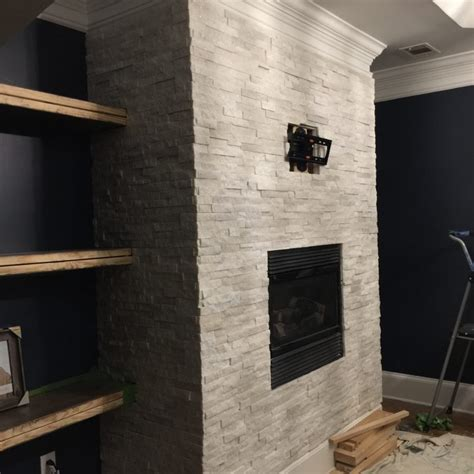 indoor electric fireplace with stacked stone surround stacked stone fireplace surround