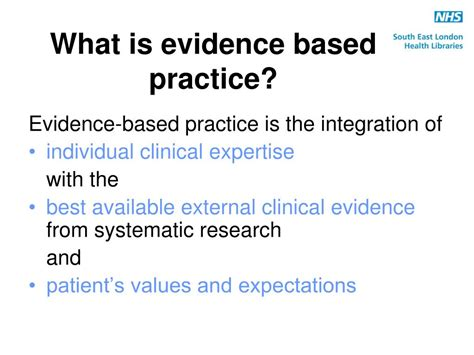 Evidence Based Research Paper by Evidence Based Practice Research Pa