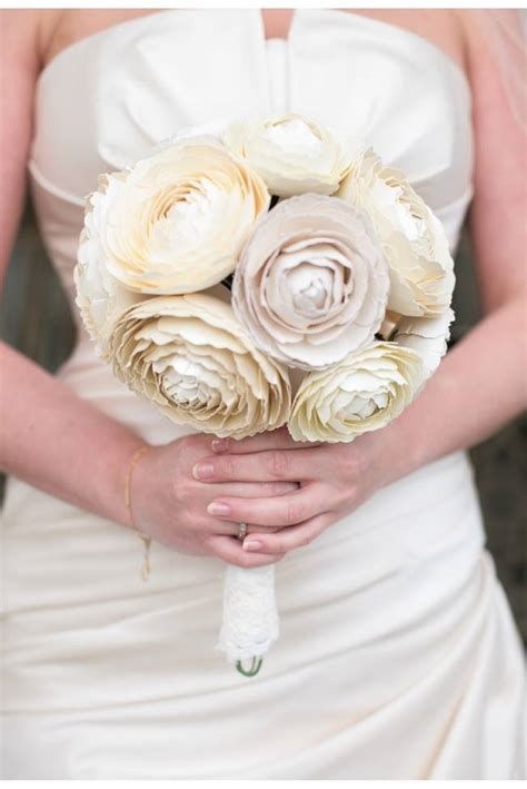 How To Make Paper Bouquets For Weddings - paper wedding bouquets