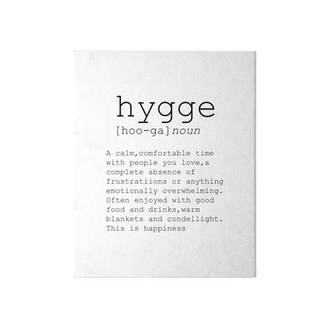 typography dictionary quot typography print dictionary print hygge definition printable poster wall printable