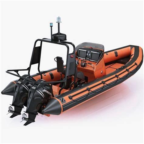 inflatable lifeboat zodiac rib hurricane and engine - Zodiac Lifeboat