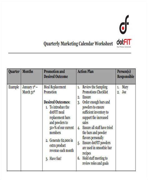 how to make a quarterly calendar in excel 10 quarterly calendar template free sle exle