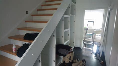 treppenschrank ikea unser fertiges streif haus wir bauen ein fertighaus mit