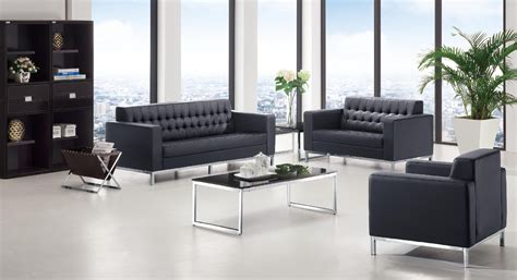 3 Bit High Grade Creative Office Sofa Minimalist Modern Modern Office Sofa