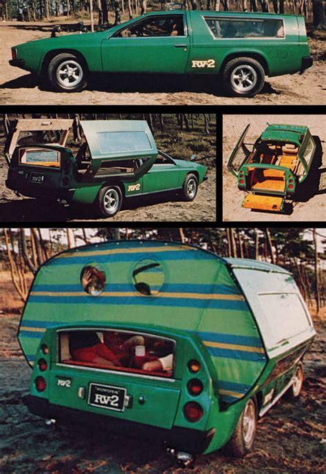 Toyota Rv 2 Toyota Rv 2 Concept 1972