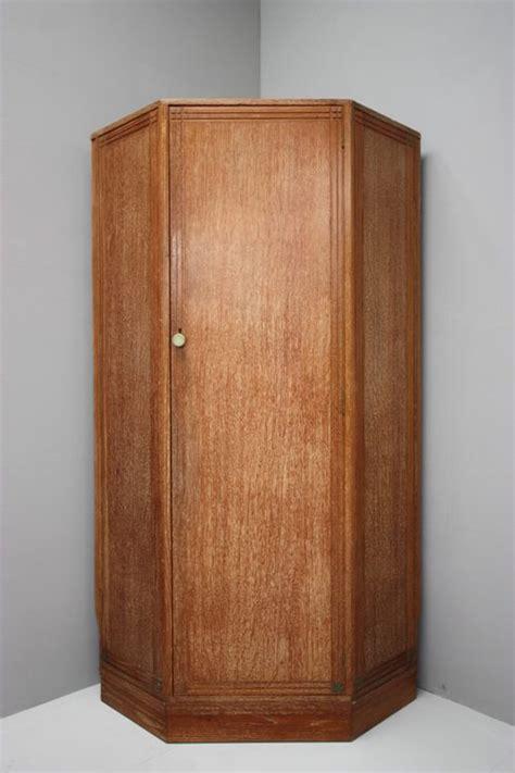 Oak Corner Wardrobe 1930 s limed oak heals corner wardrobe antiques atlas