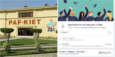 Paf Kiet Mba Fee Structure 2017 by The Students Of Paf Kiet A Strong Message For