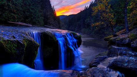 desktop themes nature waterfall beautiful waterfall hd wallpaper nature wallpapers