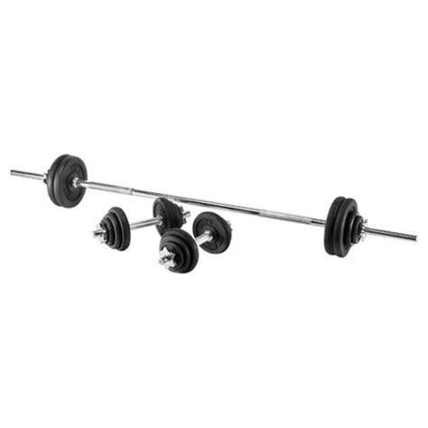 Barbel Besi 5kg Barbell Dumbell Olahraga Fitness buy york fitness 50kg cast iron barbell dumbell set from our all weights and strength