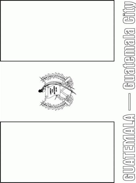 Guatemala Flag Printable