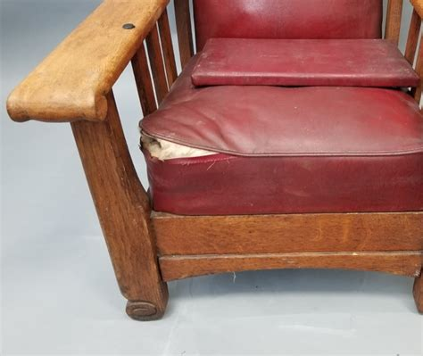 antique mission recliner chairs antique mission style oak recliner armchair