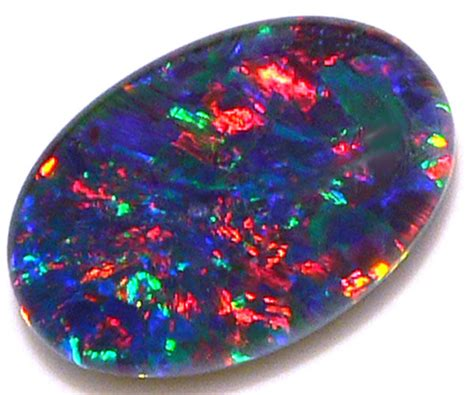 Batu Opal Wonogiri Black Opal opal 14x10mm black opal triplet calibrated cabochon gemstone suit jewelry pendant or ring