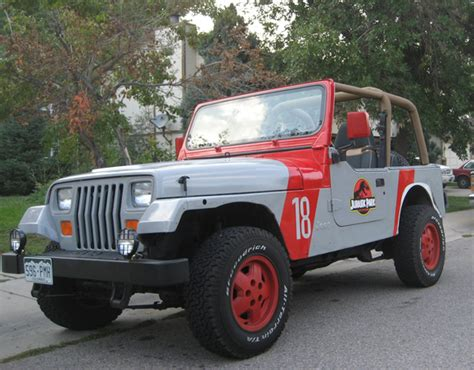 Jurassic Park Jeep Jurassic Park Jeep Wrangler 08 By Boomerjinks On Deviantart