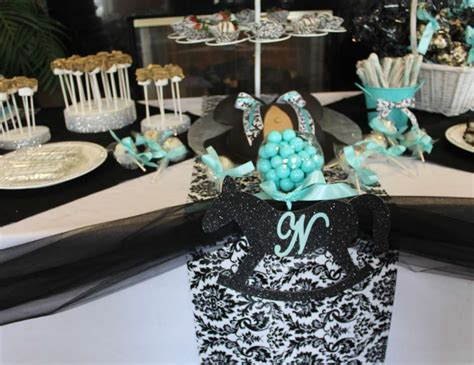 tiffany blue black and purple damask and tiffany blue baby shower quot nessy s baby shower