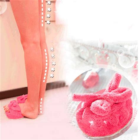 Slimming Slipper Sendal Pelangsing s slim half sole shoes weight loss dieting slimming slippers style pink color in