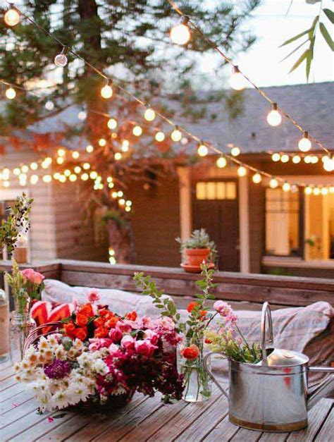 outdoor backyard lighting 26 breathtaking yard and patio string lighting ideas will